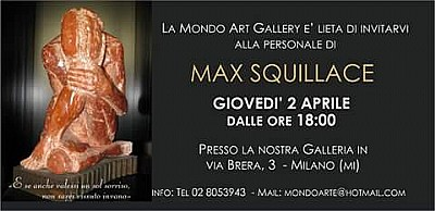 MOSTRA D'ARTE MAX SQUILLACE