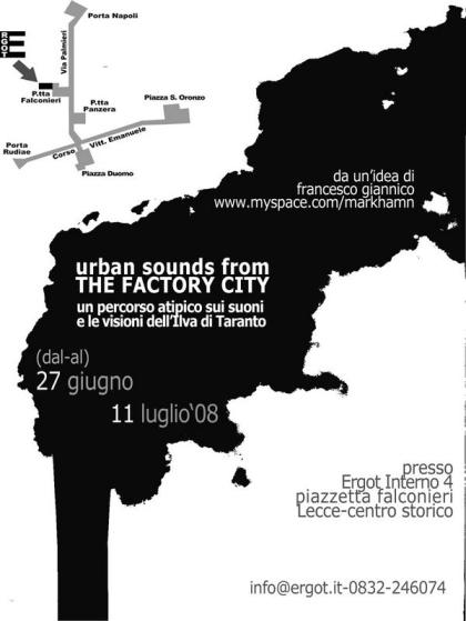 Urban Sounds from THE FACTORY CITY